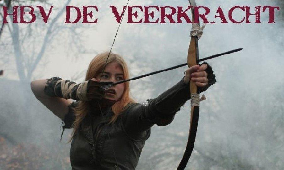 Cloutverschieting HBV de Veerkracht @ Handboogvereniging De Veerkracht   Coevorden   Drenthe   Nederland